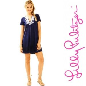 NWT Lilly Pulitzer Maisy Dress-True Navy